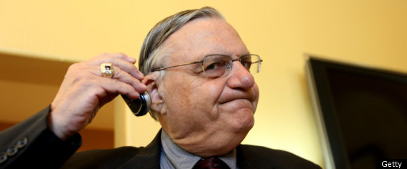 Joe Arpaio Homeland Security