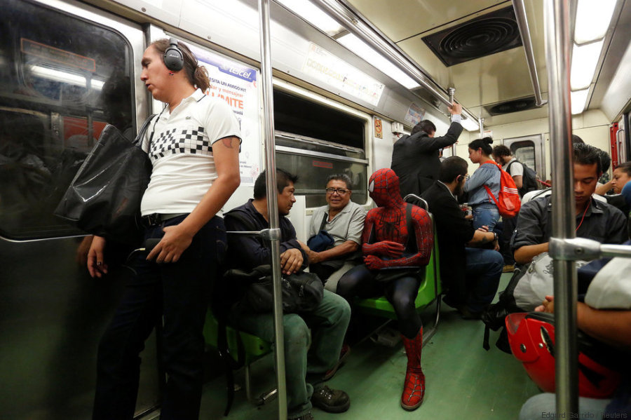 spiderman profesor mexico