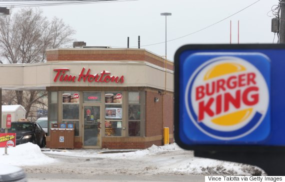 tim hortons burger king