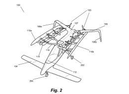 Le PDG de Google tente de développer une voiture volante