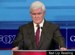 Newt Gingrich Bad Lip Reading