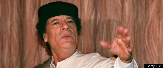 MUAMMAR GADDAFI DEATH WAR CRIME