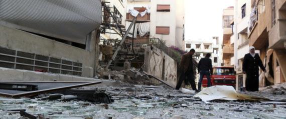 DARIA CITY IN SYRIA