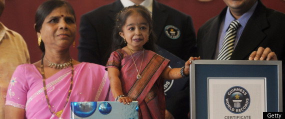 Jyoti Amge World Shortest Woman