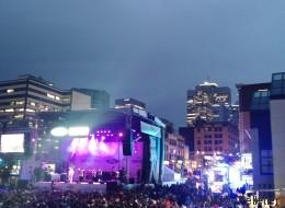 Spectacle d'ouverture des FrancoFolies sous le thème hip-hop: La pluie? Quelle pluie? (PHOTOS)