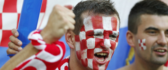 CROATIA FANS FOOTBALL