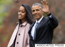 Malia Obama Graduates High School, Her Dad Can't Handle It