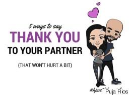 Me vs. Fibromyalgia: Part 5 -- 5 Ways to Say Thank You to Your Partner (That Won't Hurt a Bit)