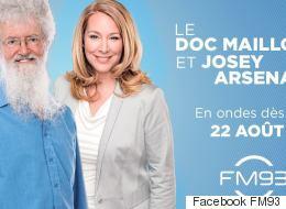 Le Doc Mailloux se joint au FM93