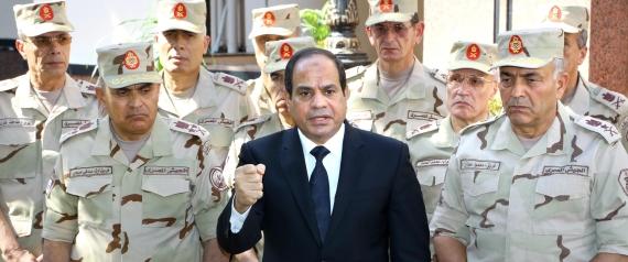 EGYPT ARMY SISI