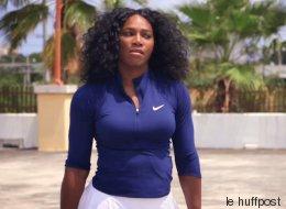 Ne dites plus jamais à Serena Williams qu'elle est douée pour une fille (VIDÉO)