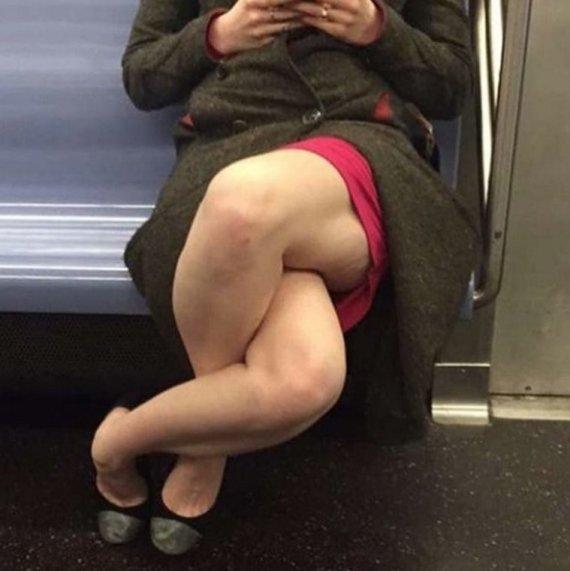piernas metro