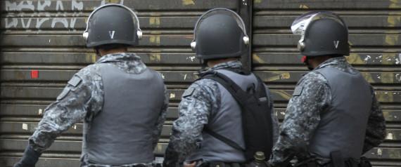 BRAZIL POLICE SAO PAULO