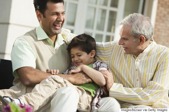 grandpa kids