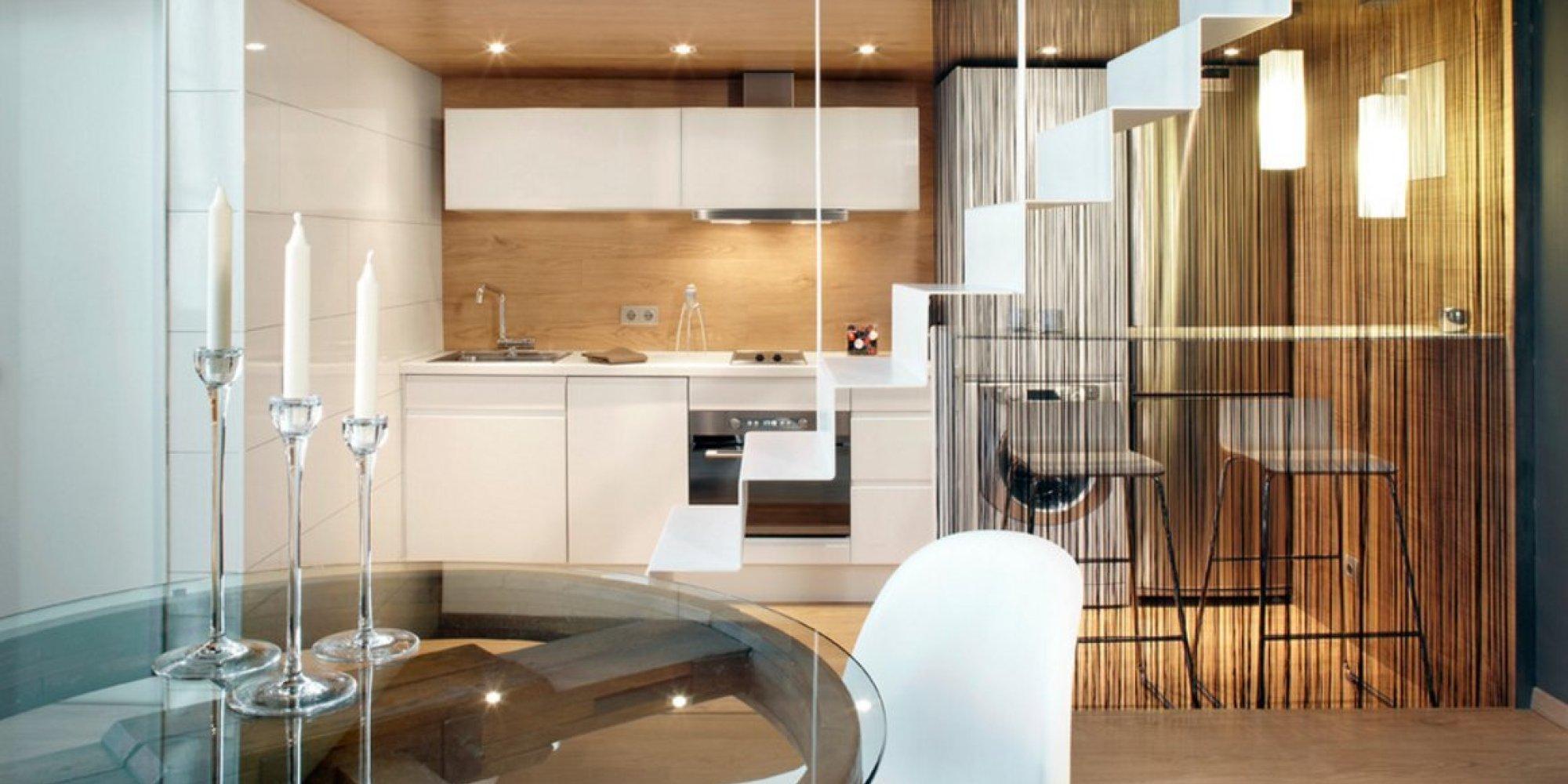 Trucos para diferenciar los espacios de la casa y ganar - Cristales para casas ...