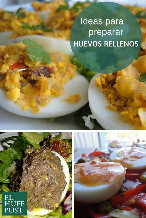 huevos rellenos canva