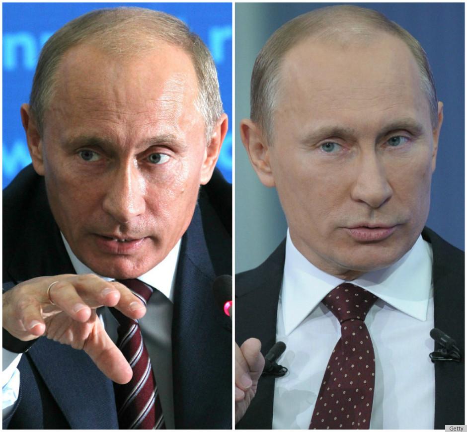 Какие пластические операции делал Владимир Путин фото до
