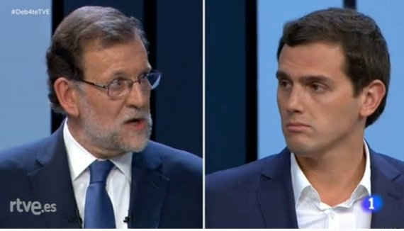rajoy albert rivera debate 13j