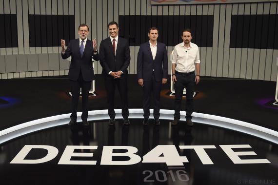 debate a cuatro 13j