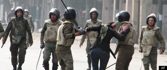 EGYPT PROTESTS BRUTAL FORCE