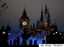 Mickey Mouse débarque à Shanghai (VIDÉO)
