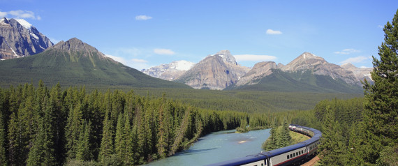 CANADA TRAIN TRAVEL