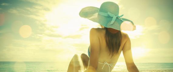 LYING IN SUN FILTER BEACH
