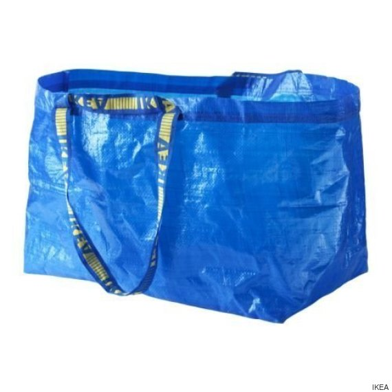 bolsa azul ikea