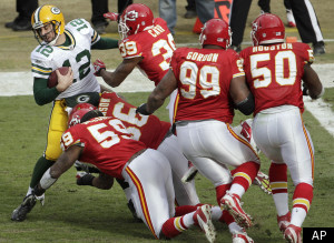 Aaron Rodgers Packers Chiefs