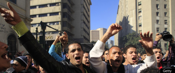 EGYPT PROTESTS MILITARY ACTIVISTS