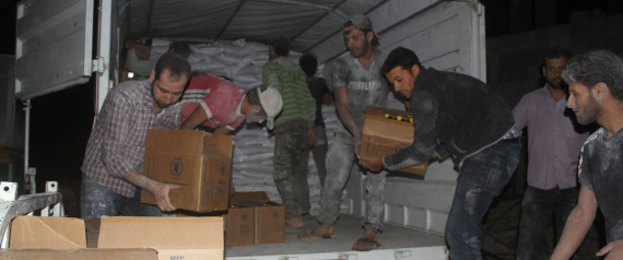 DELIVER AID TO BESIEGED CITIES IN SYRIA
