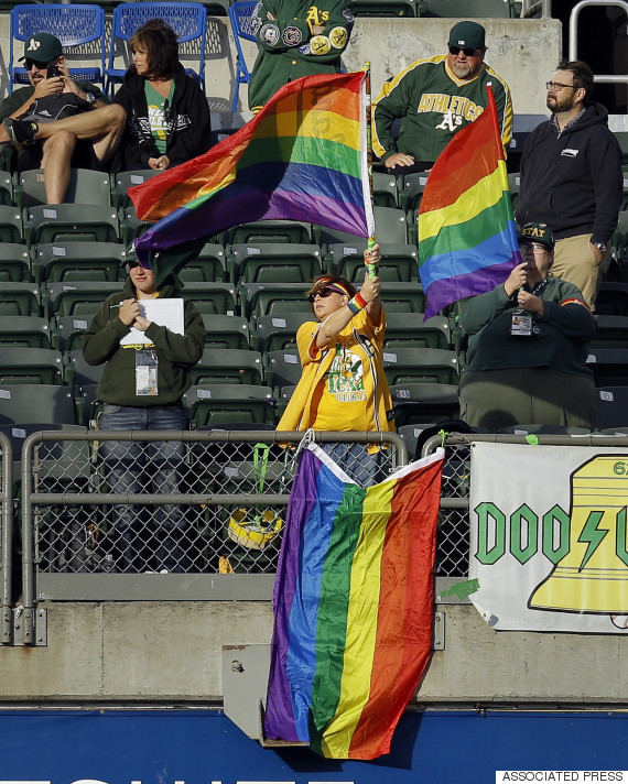 rainbow flag mlb
