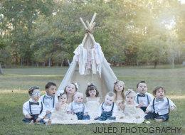Ces photos magnifiques soulignent la beauté d'enfants atteints de trisomie 21