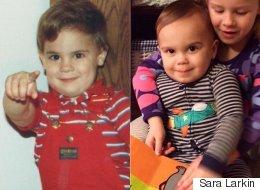 25 photos d'enfants qui ressemblent trop à leur père