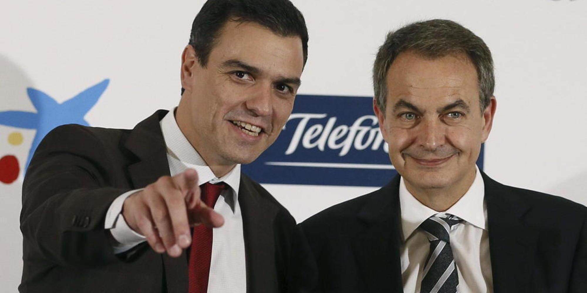 Resultado de imagen de Pedro Sánchez, Iceta y Zapatero