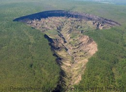 Was Forscher in diesem Krater in Sibirien fanden, gefährdet unser aller Zukunft