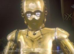 Grâce à la réalité virtuelle, R2D2 et C-3PO se baladent dans votre salon