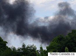 Incendie majeur dans Outremont à Montréal