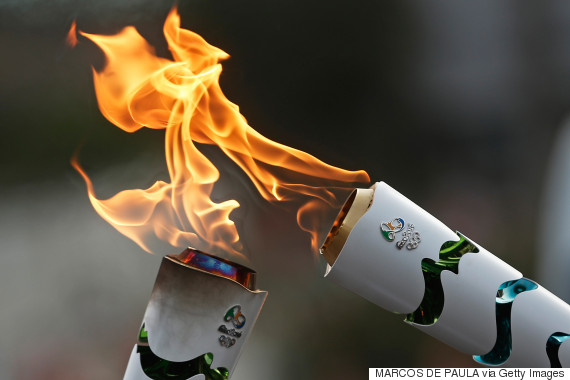 olympic torch rio