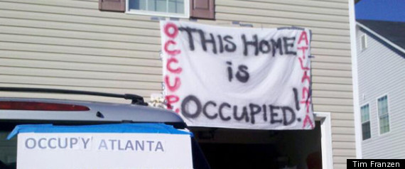 Occupy Atlanta Veteran Home