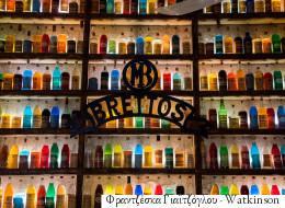 O Βρεττός είναι το παλαιότερο (και ίσως το ομορφότερο) ποτοπωλείο της Αθήνας