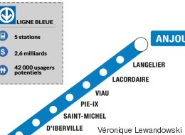 Prolonger la ligne bleue, une priorité purement politique? (VIDÉO)