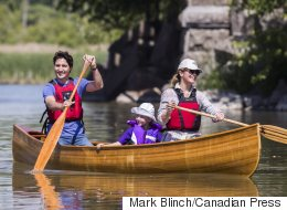 The Trudeaus Take Up A Paddle For Rouge River Fundraiser