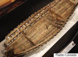 Les vestiges d'une frégate datant de la Nouvelle-France restaurés au Texas
