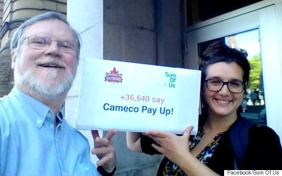 cameco tax evasion sum of us