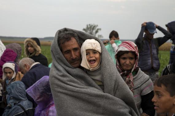 refugiados bebes