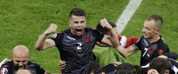 ALBANIA RUMANIA