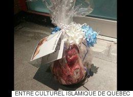 Une tête de porc envoyée à une mosquée de Québec (VIDÉO)