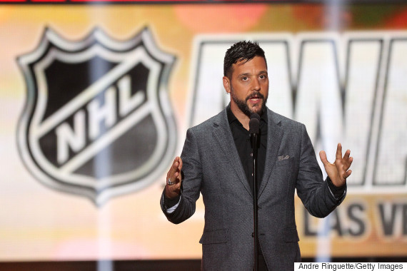 george stroumboulopoulos hockey
