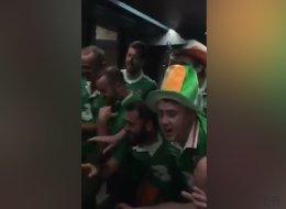 Les supporters irlandais ont encore frappé !